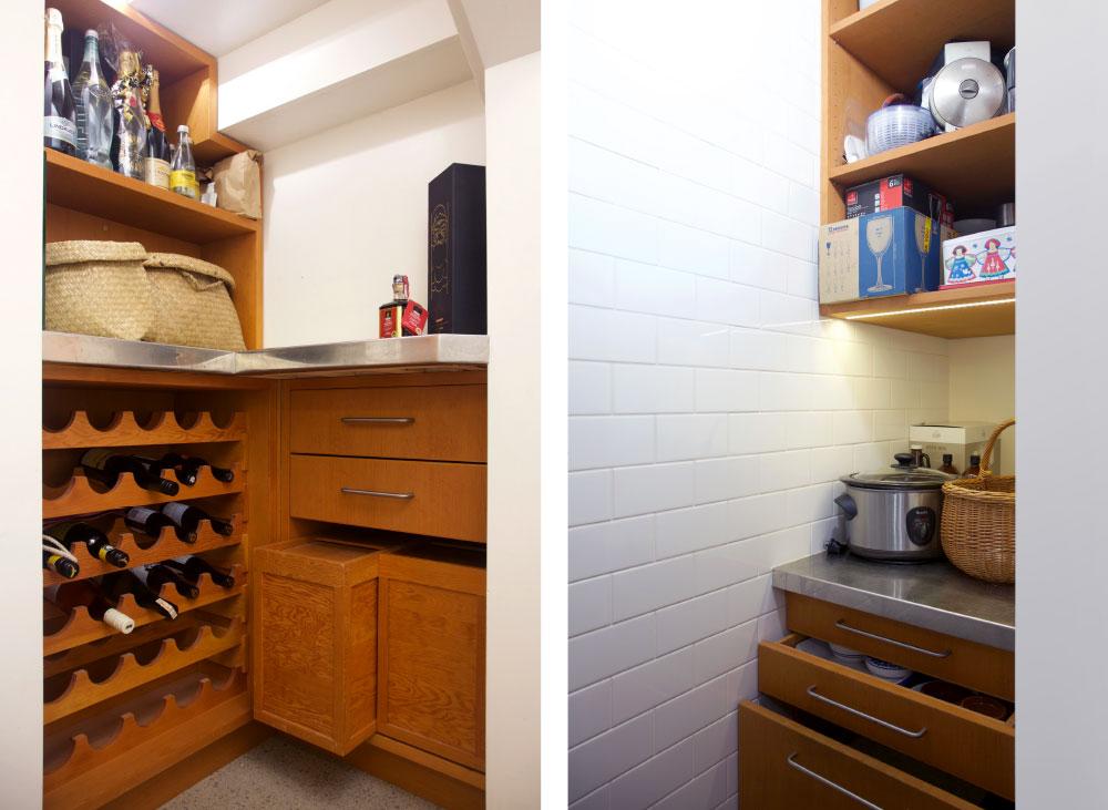Shelving – Larder storage 2
